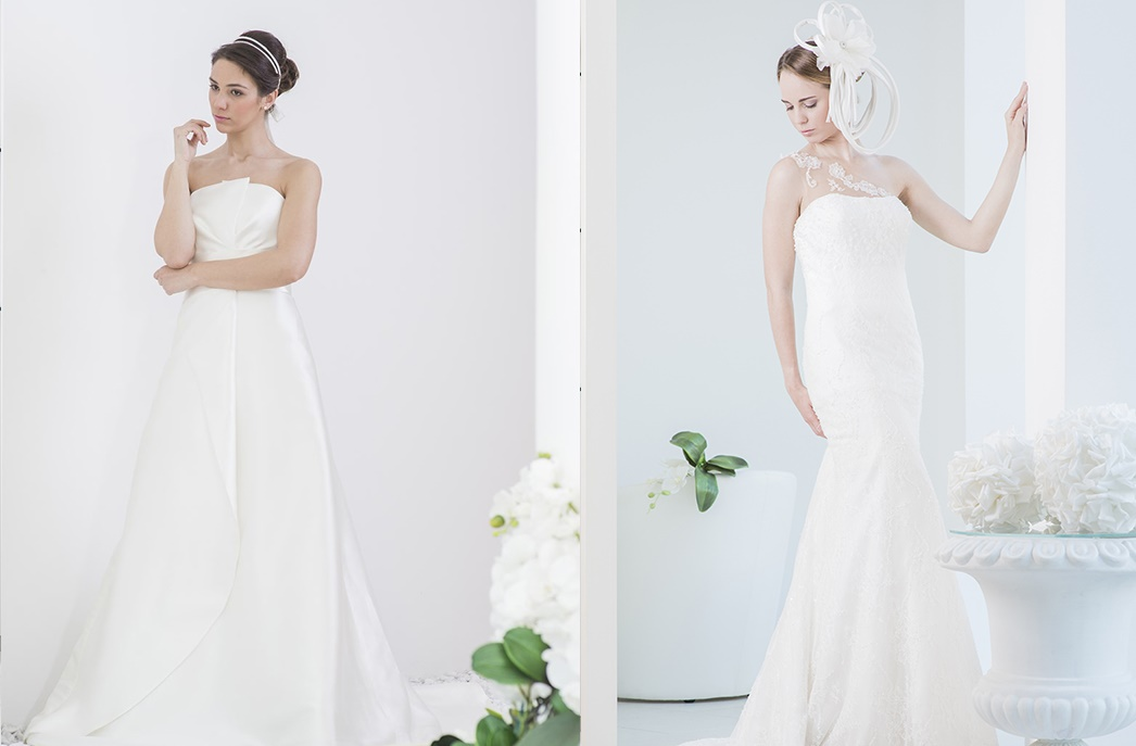 abito da sposa impermeabile